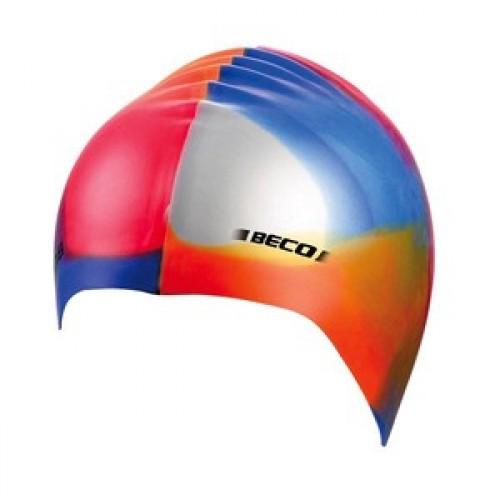 Шапочка д/плав BECO 7391 299 силікон мультиколір