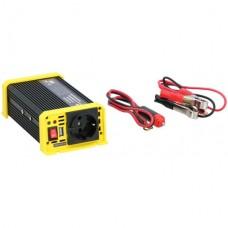 Конвертер для автомобілів DUNLOP від 12 до 230 В. Потужність 300 Вт