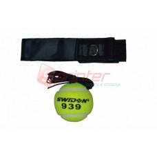 Тренажер-еспандер для боксу з м'ячиком G-393