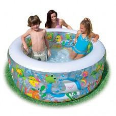 Дитячий надувний басейн Intex (152-56см)