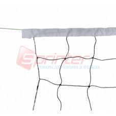Сітка волейбольна SD-802 (1.7мм 1м*9м з трос)