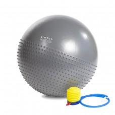 М'яч для фітнесу HMS YB03 55CM (тем. сині)