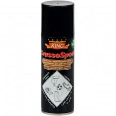Спрей для шкіри одягу та взуття KING GRASSO SPORT 200ML (безбарвний)