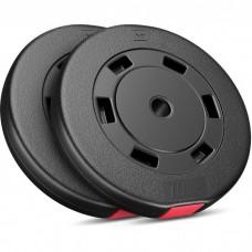 Набір композитних дисків Hop-Sport D-20 (2х10 кг)