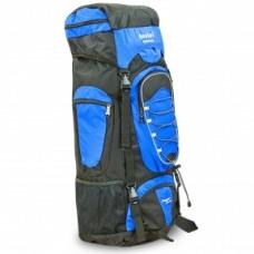 Рюкзак туристичний безкаркасний DTR 60 + 10 літрів (синій)