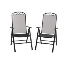 Набір крісел FLORABEST Klappsessel Streckmetall SET 2