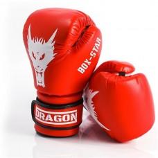 Рукавиці боксерські DRAGON BOX STAR (червоні)