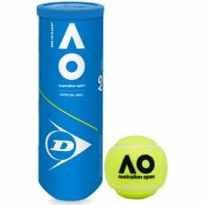 М'ячі для тенісу Dunlop Australian Open 3 ball (3шт.)