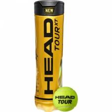 М'ячі для тенісу Head Tour XT 4 Ball (4шт.)