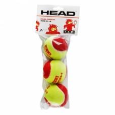 М'ячі для тенісу Head TIP Red 3B пакет (3шт.)