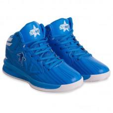 Кросівки баскетбольні Jordan 8603W-1 (сині, не оригінал)