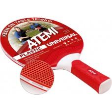 Ракетка для настільного тенісу ATEMI Universal (червона)