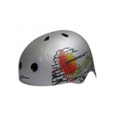 Шолом для роликів та скейтборду X-ROAD (р. S, сірий)