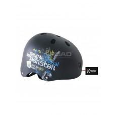 Шолом для роликів та скейтборду X-ROAD (р. XL, чорний)