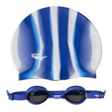 Окуляри для плавання +  шапочка Spurt 1100 AF