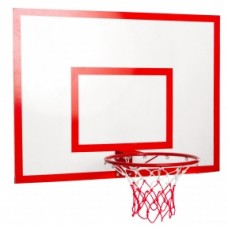 Щит баскетбольний з кільцем і сіткою посилений UR LA-6299