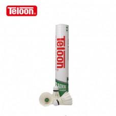 Волан бадмінтон Teloon TB3000 12шт (піря)