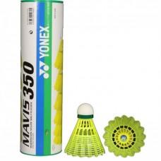 Волан для бадмінтону YONEX MAVIS 350 (жовті) 6шт.