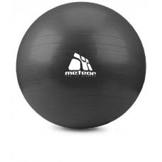 М'яч для фітнесу Meteor (75см, чорний)
