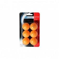 Мячики для настілного тенісу Donic Advantgarde 3* 40+ (6шт) orange (blister card)