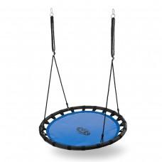 Гойдалка дитяча та доросла гніздо лелеки NILS CAMP NB5035 BLUE ŚR.110 CM