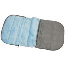 Спальник для санок ENERO 90*45см сірий з голубим