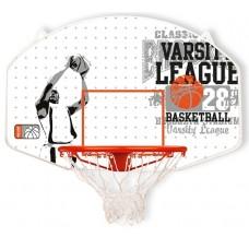 Баскетбольний щит з кільцем та сіткою New Port 16NY