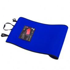 Килимок для фітнесу EVA, IronMaster 180x60x0.6см, синій