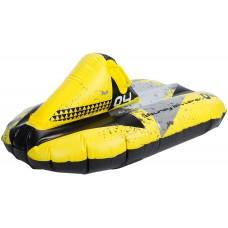Надувні санки Inflatable Snow Glider Bouncy Blizzard Yellow/Black/Grey