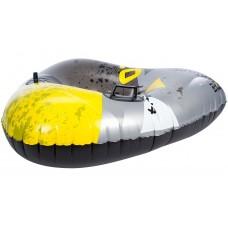 Надувні санки круг Inflatable Snow Glider  Tri-Kyrill Grey/Black/Yellow 3705