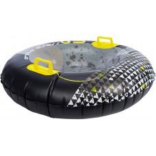 Надувні санки круг Inflatable Snow Glider Arctic Disc Black/Grey/Yellowte