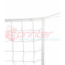 Сітка волейбольна P-4000 (1м х 9м, 10*10 см)