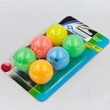 М'ячики для настілного тенісу Donic Color polls (6шт)