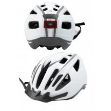 Шолом для велосипеда Crivit SP-107 Led (білий)