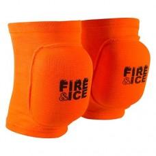 Наколінник волейбольний Fire&Ice FR-075 оранжевий